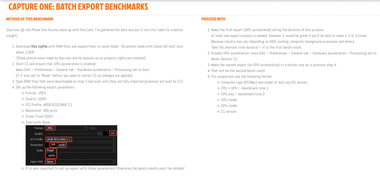 Capture One: Batch Export Benchmarks.png
